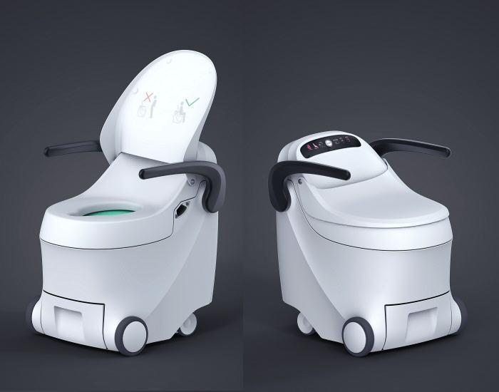 Healthcare-equipment-design-waterless-toilet