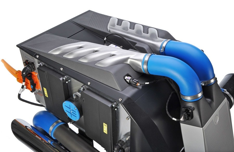 high performance 100kW automotive fuel cell