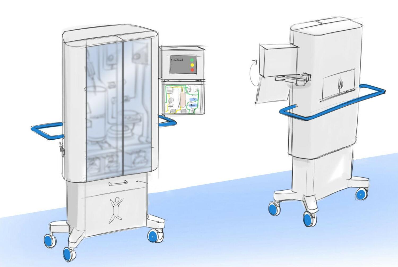 Bio Artificial Liver workstation